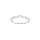 Vittore Marquise Ring, White, Rhodium Plated
