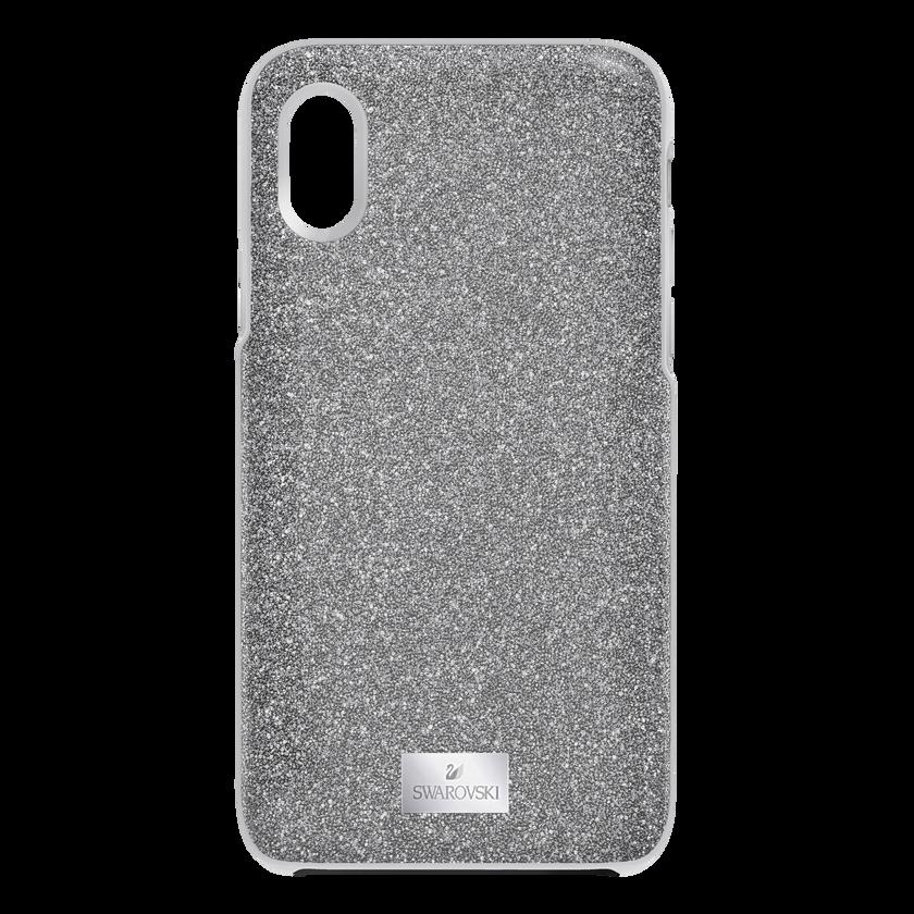 High Smartphone Case with Bumper, iPhone® XS Max, Black