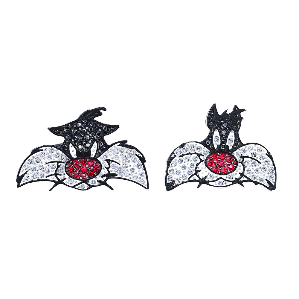 Looney Tunes Sylvester Cuff Links, Multi-colored, Rhodium plated