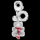 Archibald Crystal Key Ring