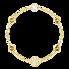 Swarovski Remix Collection Golden Strand, Multi-colored, Gold-tone plated