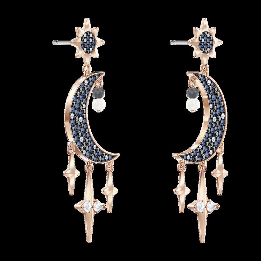 Swarovski Symbolic Pierced Earrings, Multi-colored, Mixed metal finish