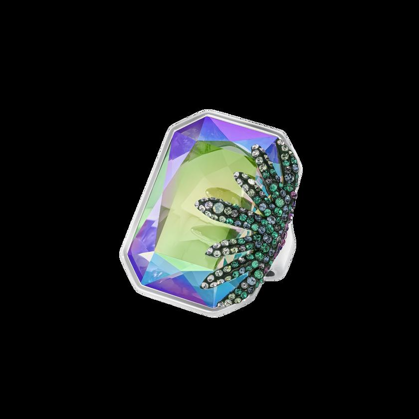 Gisele Ring, Multi-colored, Palladium Plating