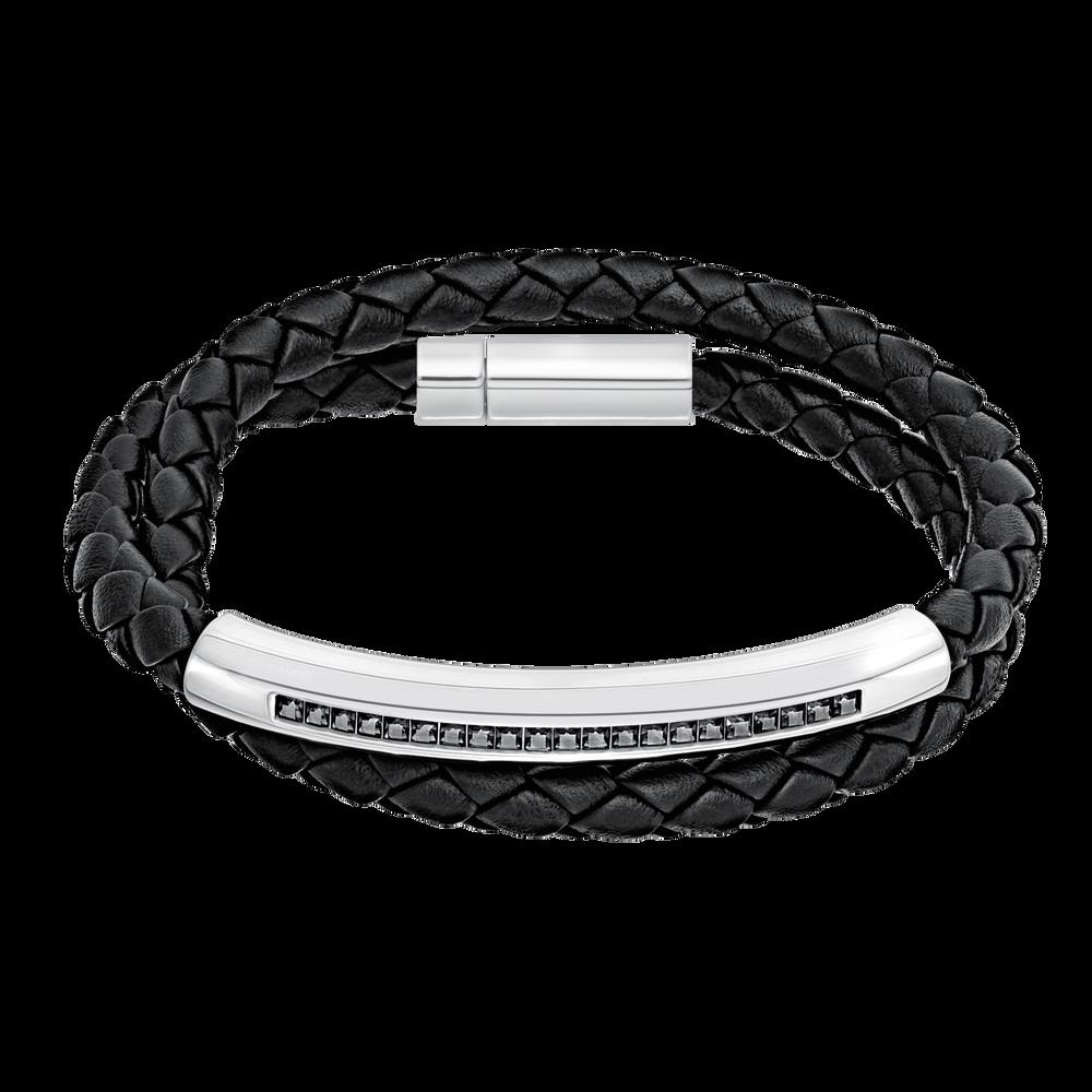 Gesture Bracelet, Grey, Stainless Steel