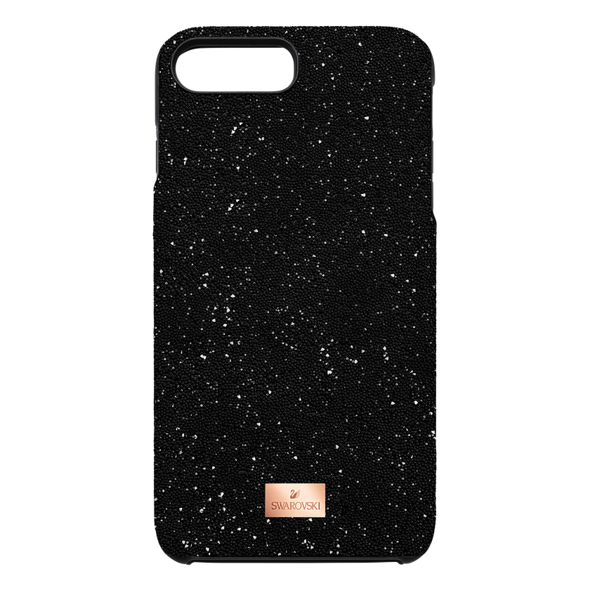 High Smartphone Case with integrated Bumper, iPhone® 8 Plus, Black