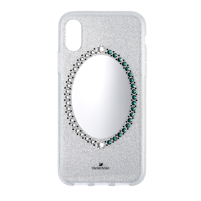 Black Baroque Smartphone Case, iPhone® X/XS, Gray