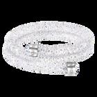 Crystaldust Double Bangle, White