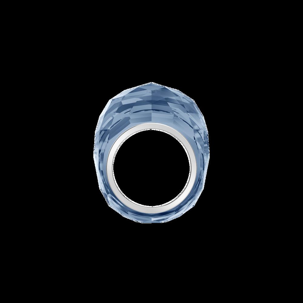 Nirvana Ring, Blue, Stainless Steel