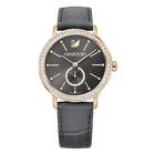 Graceful Lady Watch, Gray, Rose Gold Tone