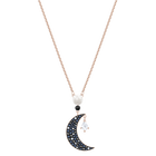 Swarovski Symbolic Pendant, Multi-colored, Rose-gold tone plated