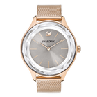Octea Nova Watch, Milanese bracelet, Gray, Rose gold tone