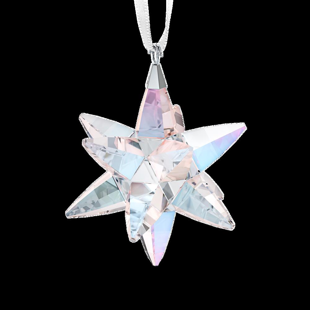 Star Ornament, Shimmer, medium