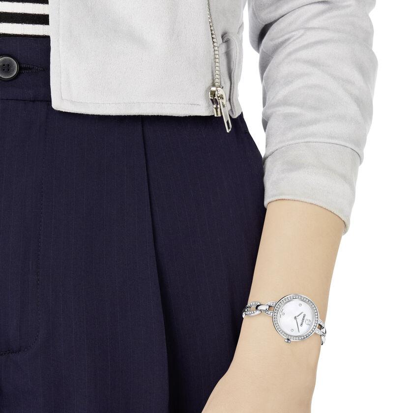 Aila Mini Watch, Metal bracelet, Stainless steel