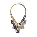 Chromancy Necklace, Multi-colored, Mixed metal finish