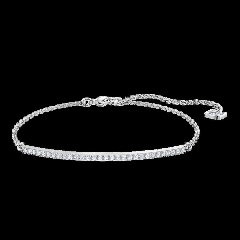 Only Bracelet, White, Rhodium plating