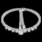 Magic Necklace, White, Rhodium Plating