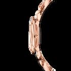 Crystal Flower Watch, Metal bracelet, Rose gold tone, Rose-gold tone PVD