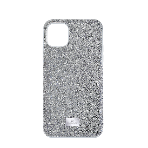 High Smartphone Case, iPhone® 12 Pro Max, Silver Tone