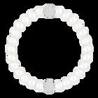 Swarovski Remix Collection, White Crystal, Pearl, White, Rhodium Plated