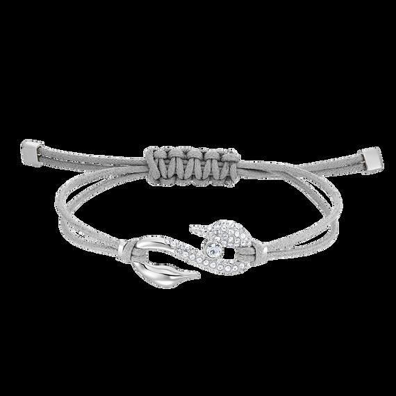 Swarovski Power Collection Bracelet, White, Rhodium plated