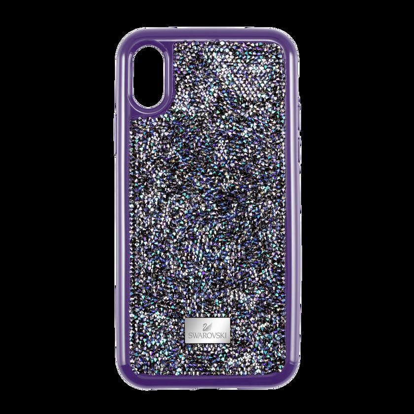 Glam Rock Smartphone case with Bumper, iPhone® XS Max, Purple