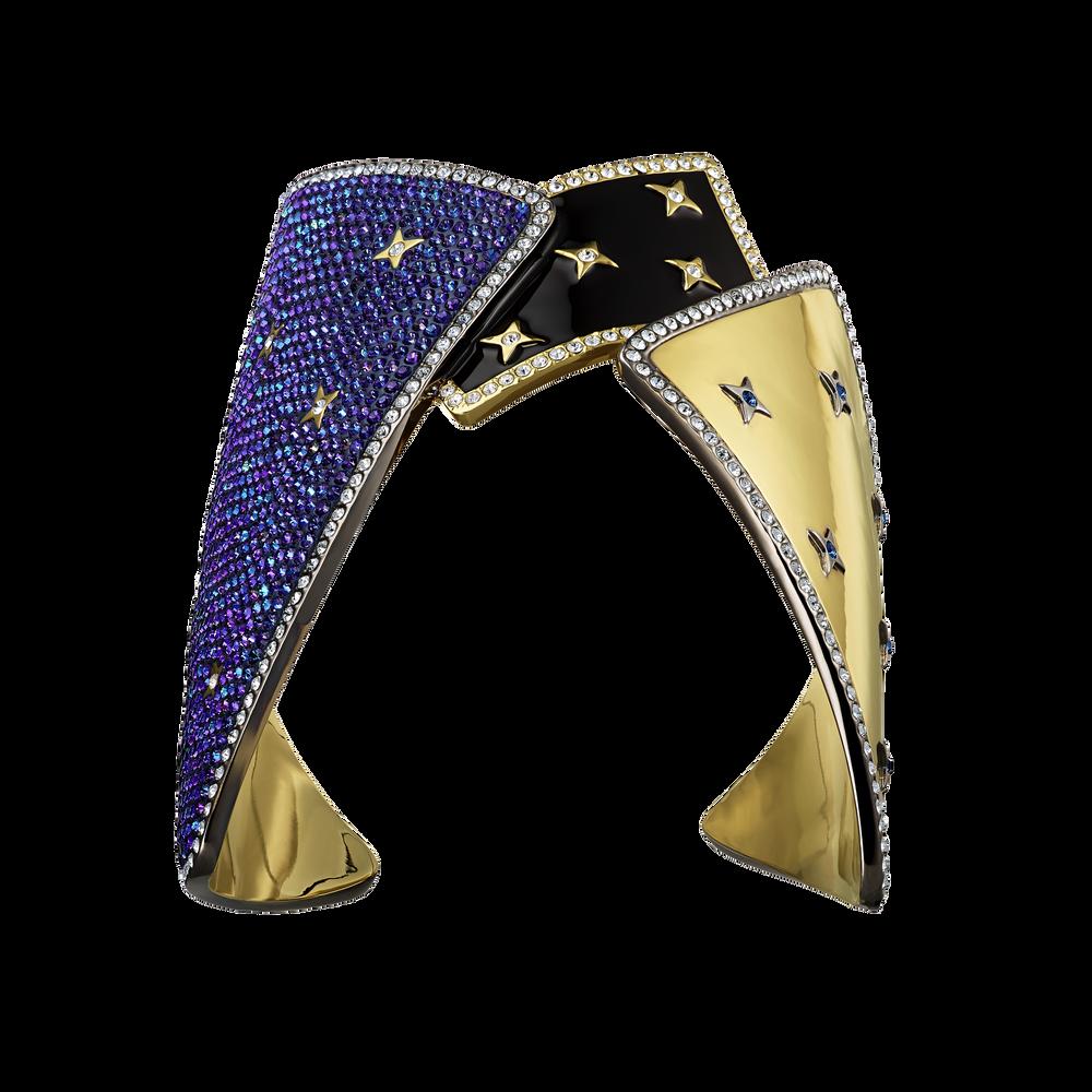 Chromancy Cuff, Multi-colored, Mixed metal finish