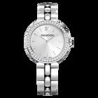 Daytime Watch, Metal bracelet, Silver Tone