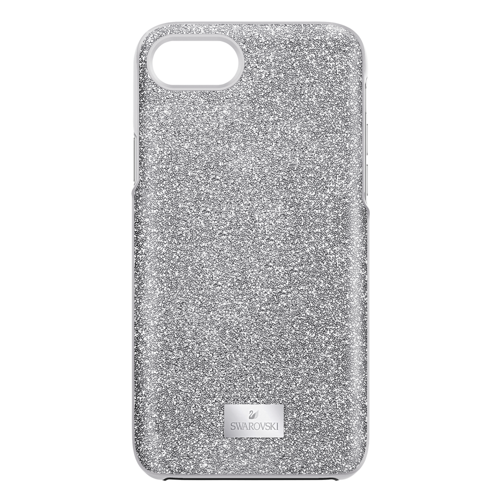High Smartphone case with Bumper, iPhone® 8, Grey