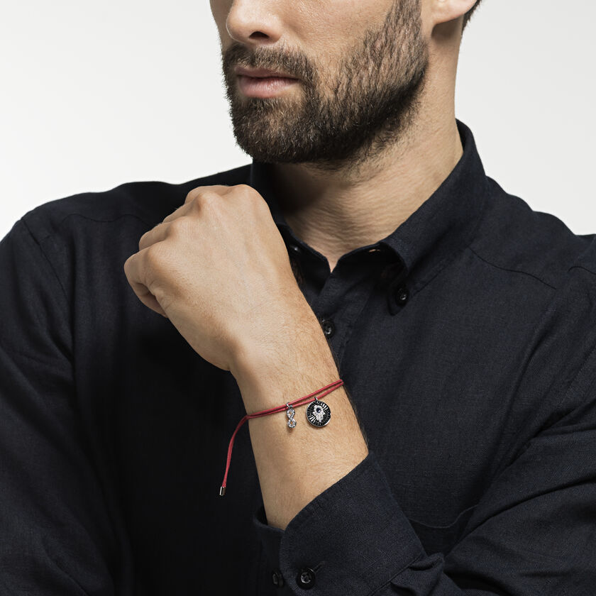 Unisex Hamsa Hand Bracelet, Multi-colored, Stainless steel
