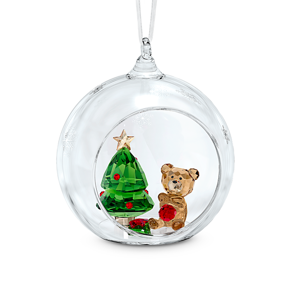 Ball Ornament, Christmas Scene