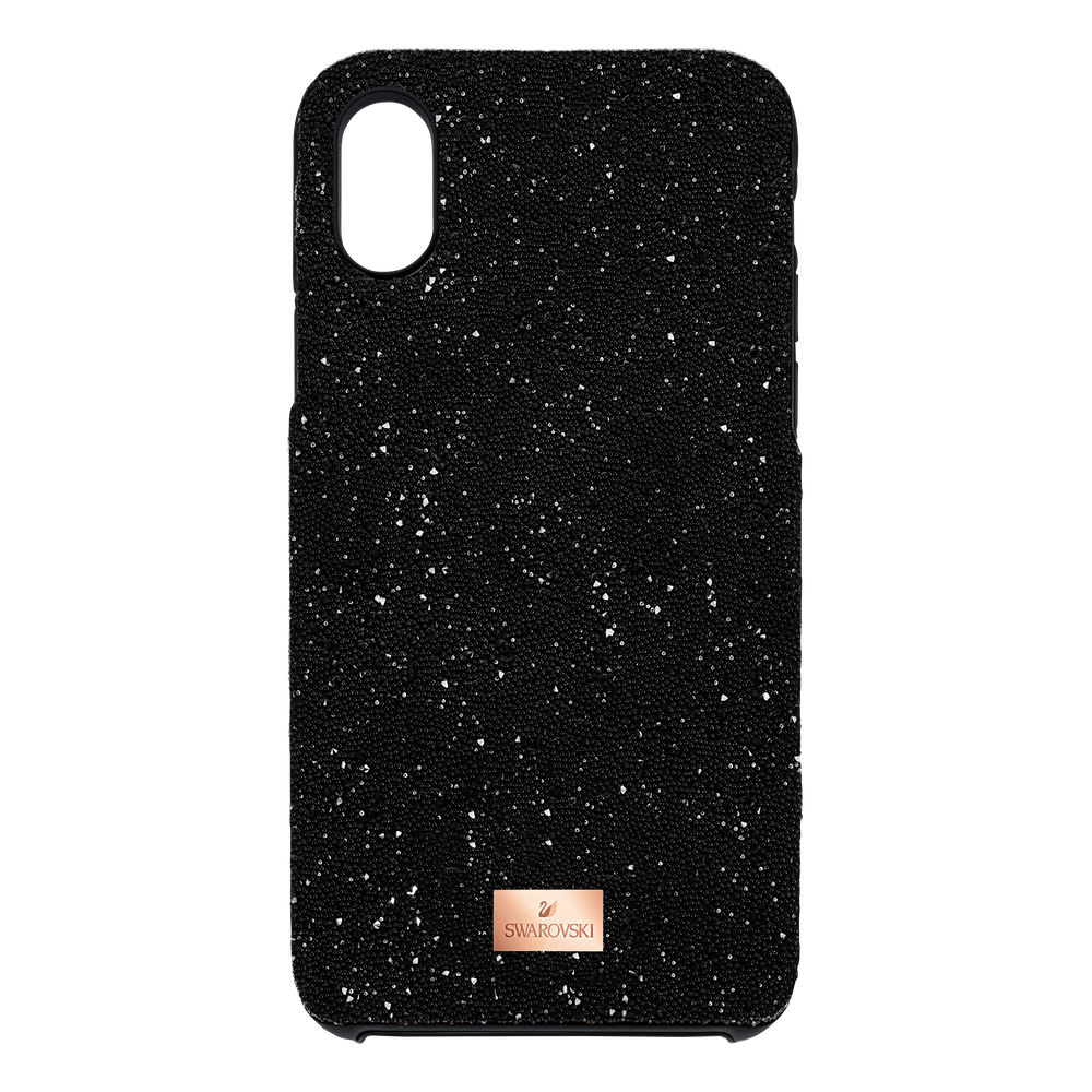 High Smartphone Case with integrated Bumper, iPhone® X/XS, Black