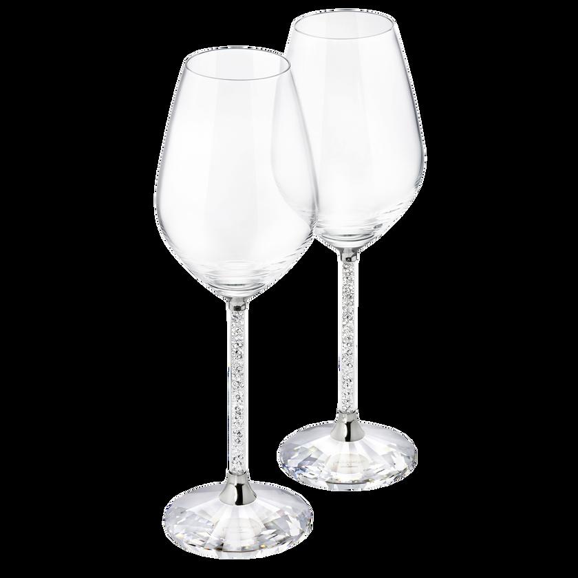 Crystalline Red Wine Glasses (Set Of 2)