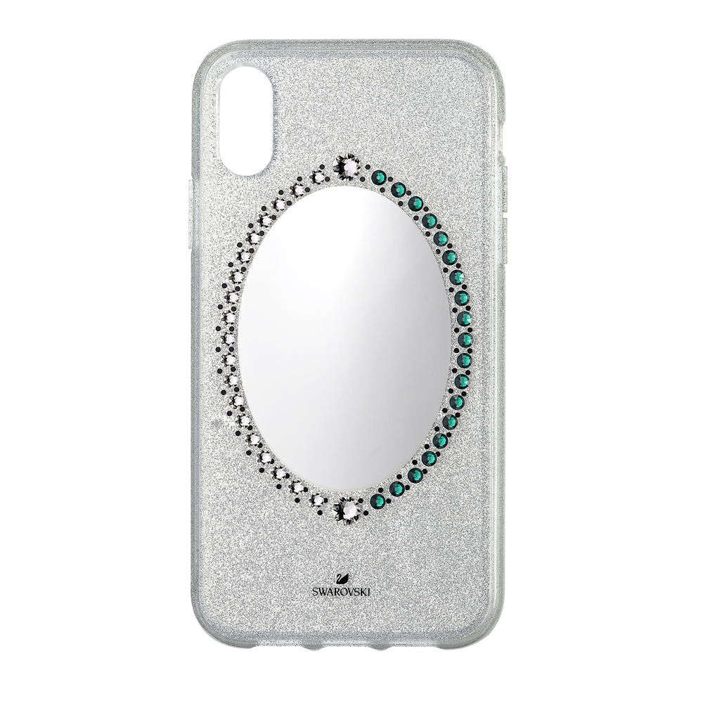 Black Baroque Smartphone Case, iPhone® XR, Gray
