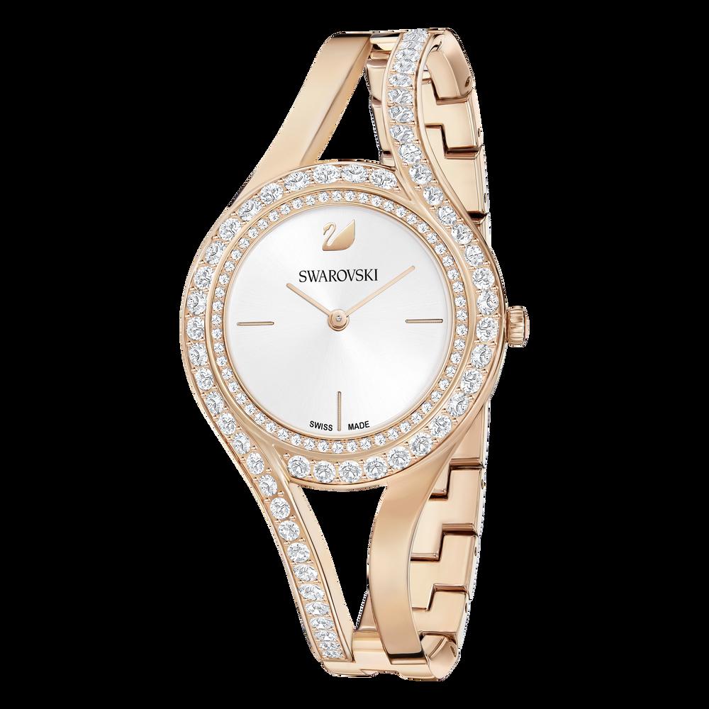 Eternal Watch, Metal Bracelet, White, Rose Gold Tone
