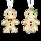 Gingerbread Couple Ornament Set