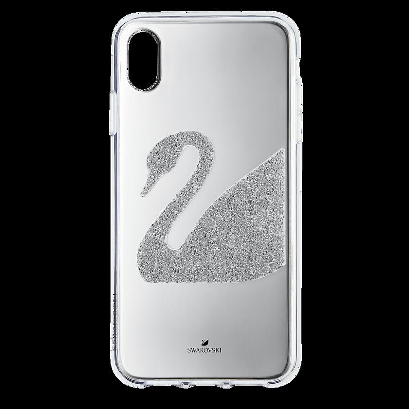 Swan Smartphone Case, iPhone® XR, Gray