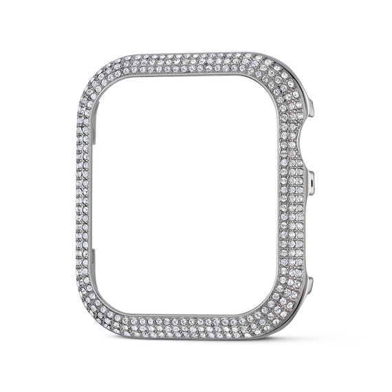 40mm Sparkling Case Compatible with Apple Watch®, Silver Tone