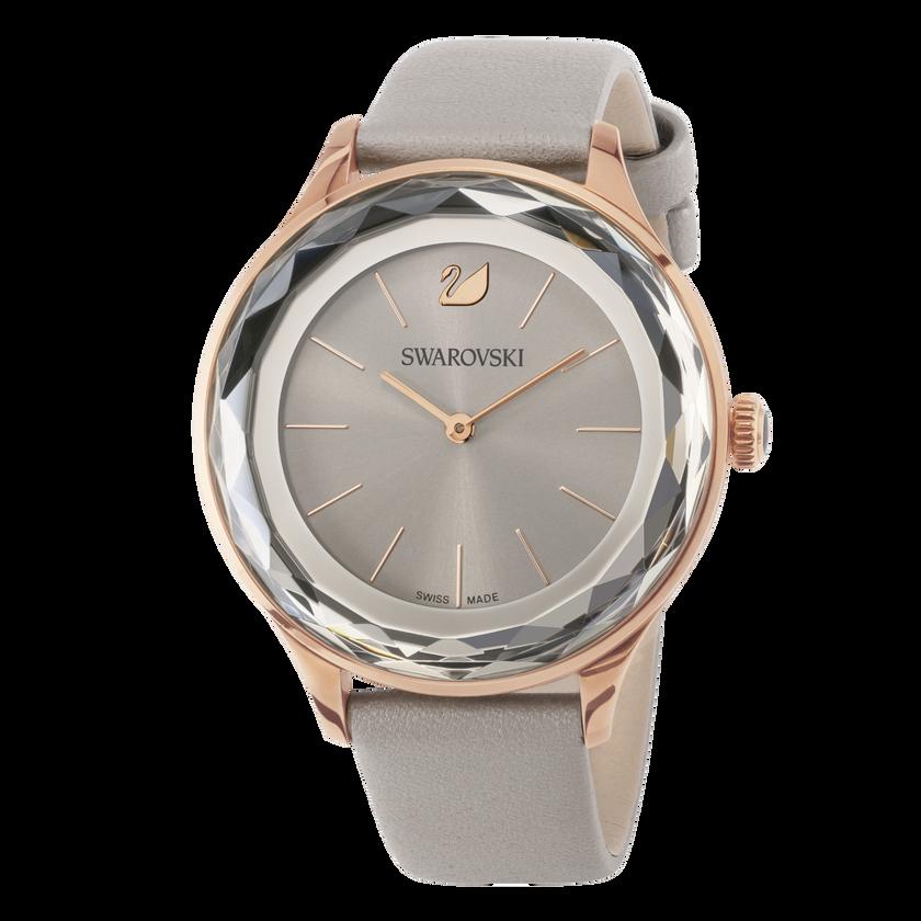Octea Nova Watch, Taupe, Rose Gold Tone