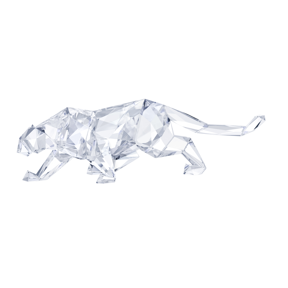 Leopard by Arran Gregory, Crystal