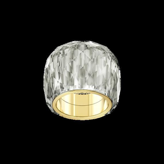 Nirvana Ring, Gray, Gold-tone PVD