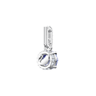 Swarovski Remix Collection Charm, September, Dark Blue, Rhodium Plating