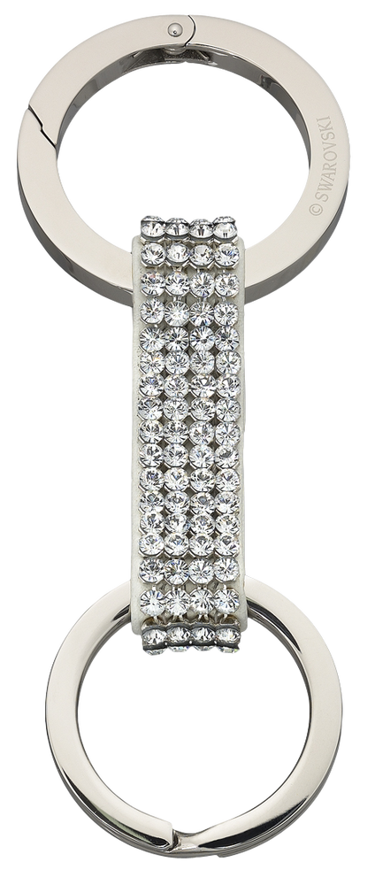 Alice Key Ring, Stainless Steel