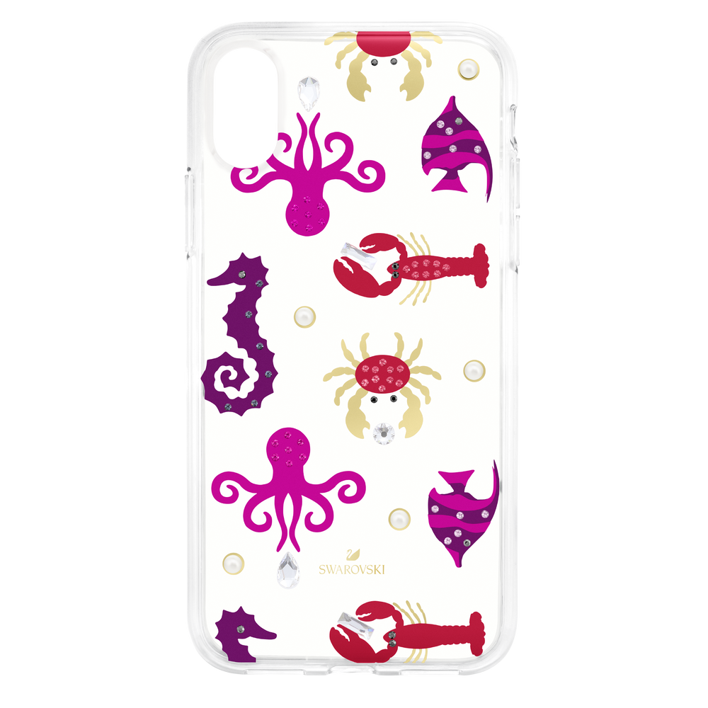 Sea Life Smartphone case with integrated Bumper, iPhone® X/XS, Transparent