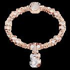 Swarovski Remix Collection Charm S, White, Rose Gold Plating