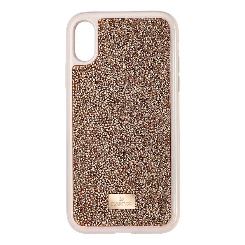 Glam Rock Smartphone Case, iPhone® XR, Pink Gold