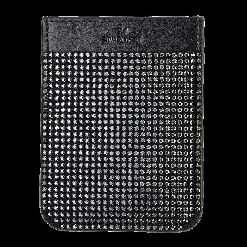 Swarovski Smartphone sticker pocket, Black
