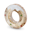 Holiday Cheers Gingerbread Donut Magnet