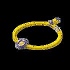 Dulcis necklace, Cushion cut crystals, Purple