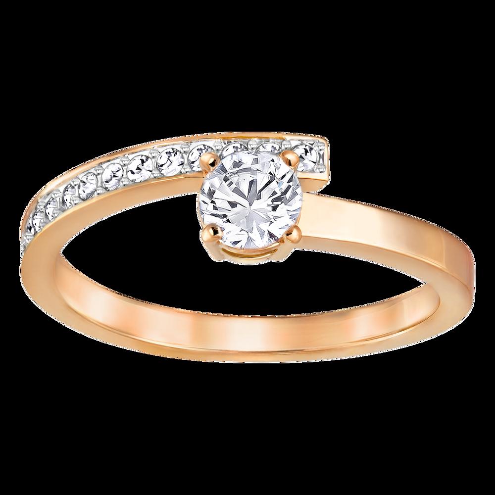 Fresh Ring, White, Rose Gold Plating