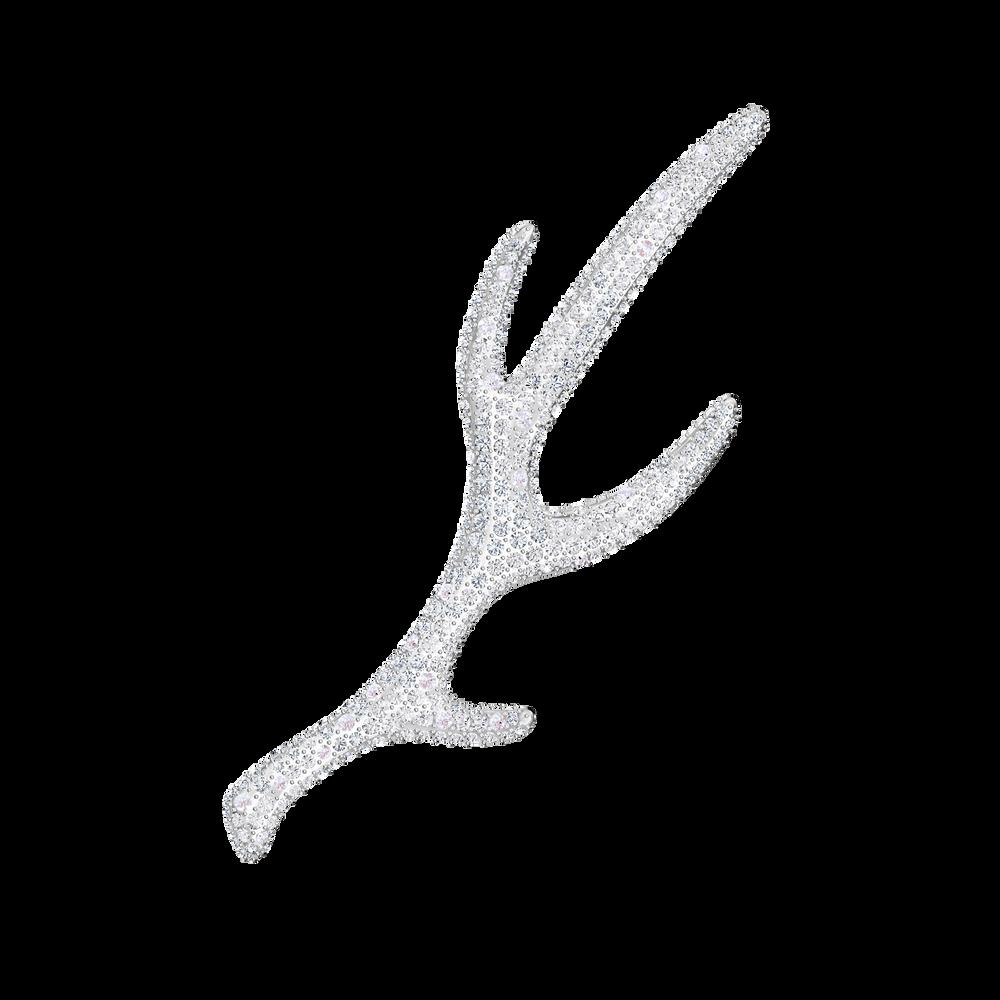 Polar Bestiary Brooch, Multi-colored, Rhodium plated